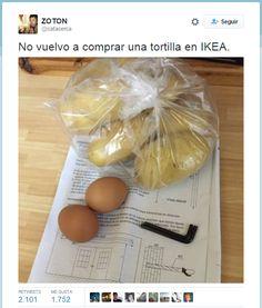 Tortilla de patatas ikea