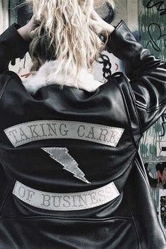 TCOB Leather Jacket