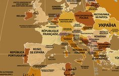 El nombre que se da cada país a sí mismo (MAPA)