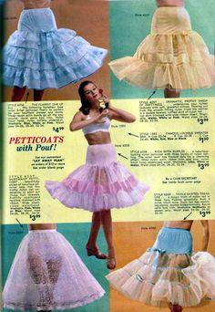 alice lon petticoats*****pouf-o-rama. Lingerie Retro, Classic Lingerie, Vintage Outfits, Vintage Dresses, 50s Dresses, Flower Girl Dresses, Flapper Dresses, Dress Girl, Floral Dresses