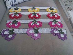 Newest Towel Edge Crochet Needlework Models Thread Crochet, Crochet Trim, Filet Crochet, Crochet Lace, Crochet Edging Patterns, Crochet Borders, Holidays And Events, Crochet Flowers, Handicraft