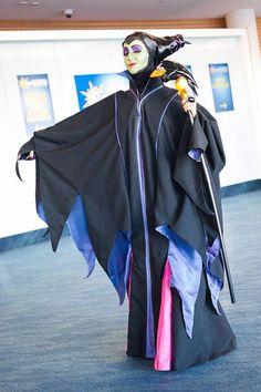 Hit Girl als Maleficent