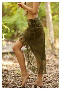Bohemian Skirt, Gypsy Skirt, Boho Skirts, Wrap Skirts, Pixie Outfit, Festival Skirts, Festival Outfits, Festival Clothing, Burning Man Outfits