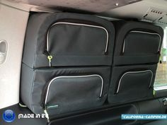 NEW! The Ocean Window Bag - this will fit: the Ocean, Coast, Comfortline & Beach with 2 seater bench Vw T5, Vw Transporter Van, Volkswagen Caddy, Kangoo Camper, Suv Camper, Mini Camper, California Camping, California Beach Camping, Motor Home Camping