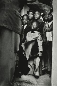 Photo by Gordon Parks, 1963. Oh my goodness that little man... such sweet faces.