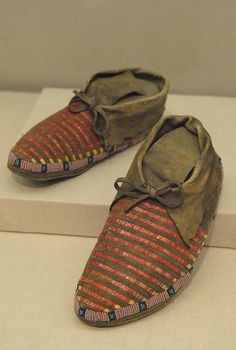 Lakota Mocassins by Teyacapan, via Flickr