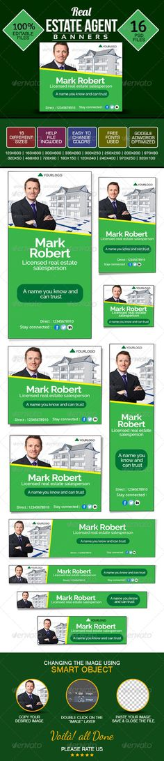 Banner Design Set for Real Estate Agents Template PSD | Buy and Download: http://graphicriver.net/item/banner-design-set-for-real-estate-agents/8782641?WT.ac=category_thumb&WT.z_author=doto&ref=ksioks