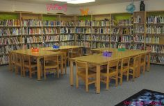 Mrs. Lodge's Library--elementary library blog with good ideas