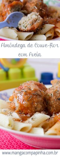Almôndegas de Couve-Flor - para o almoço de domingo do seu filho, um prato vegetariano e delicioso! #comidadebebê #introduçãoalimentar #receita Chicken Wings, Beef, Food, Easy Vegetarian Dinner, Vegetarian Lunch, Food Baby, Cauliflowers, Salads, Vegan Food