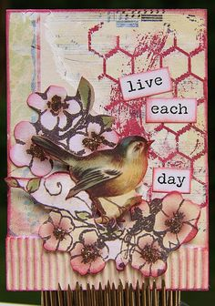 Bird Themed ATC |                                          Wendy Schultz - ATC.