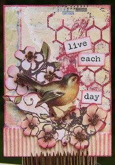 Bird Themed ATC |                                          Wendy Schultz - ATC.