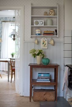 Country Home Decorating - Country Style Interior Design - Sweet Crib Country Interior, Country Decor, Country Style Homes, Cottage Style, Interior Exterior, Home Interior Design, Scandinavian Cottage, Ideas Para Organizar, Dream House Plans