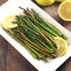 Wow your guests with this simple but delicious Lemon Wok Asparagus.
