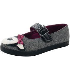 T.U.K. TUK PLIMMIES mary jane HERRINGBONE DEER SHOES GREY in Clothes, Shoes & Accessories, Women's Shoes, Flats   eBay