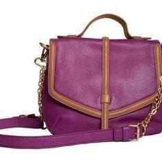 cross-body satchel - like the color!