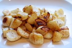 Roasted Turnips | Nom Nom Paleo (use tallow or lard in place of ghee)