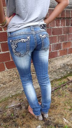 Miss Me Distressed Skinny...My next pair for Fall :)