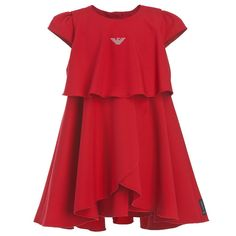 Like the drape on this. Armani Baby Dress