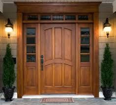 Wood Door Makes for A Grand Entrance! KristinaCarterRE@Gmail.com