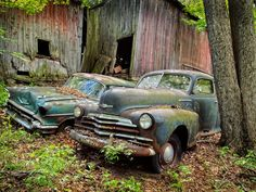 old rusty trucks and cars - Google Search