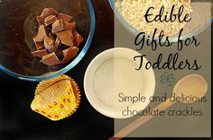 Simple Chocolate Crackles Recipe   Childhood101 Use rice bubbles not puffed rice. Yummy and easy.