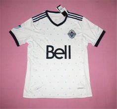 Vancouver Whitecaps FC 2017-18 Season Home White MLS Shirt Jersey Vancouver  Whitecaps FC 2017-18 Season Home White MLS Shirt Jersey  43b15fa45
