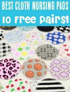New Mom Tips and Tricks - Cloth Nursing Pads can be used over and over, and will save you SO much!  Just pick your favorite patterns and get ten pairs!  Have you gotten yours yet?? Free Baby Stuff, Cool Baby Stuff, Baby Hacks, Baby Tips, Life Hacks Every Girl Should Know, Nursing Pads, Save Yourself, New Moms, Your Favorite
