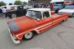 Custom lowered Chevrolet pickup truck at 2016 Custom Chevy Trucks, Gmc Trucks, Pickup Trucks, Custom Cars, Chevy C10, Chevy Pickups, Chevrolet, Ho Slot Cars, Fast Times
