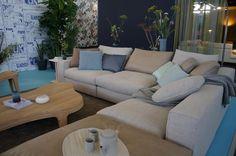 Co van der Horst / Linteloo  Hamptons bank op de woonbeurs Amsterdam 2014