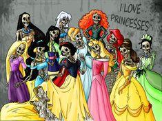 I Love Princesses by Jonás Rebenke [©2013-2014 rebenke]