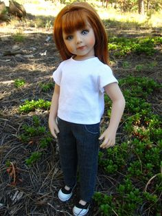 Versatility pants for Maru and Friends dolls by jenwrenne on Etsy https://www.etsy.com/listing/205045347/versatility-pants-for-maru-and-friends