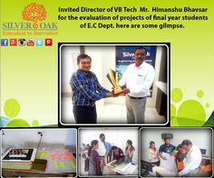 Silver Oak College Of Engineering & Technology invited The Director of VB TECH Mr. Himanshu Bhavsar for the evaluation of projects of final year students of Electronics and Communications Department. Here are some of its glimpse. He evaluated their work on the basis of concept ,their technical know how, its industrial usage,and also their team work . #innovativeprojects #educationtoinnovation #socet #silveroak #guidance #projects #evaluation #ahmedabad #career