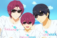 Sakura Week is officially a thing and it's taking place from April 11 to April are we excited! Me Me Me Anime, Anime Love, Rin Matsuoka, Best Anime Shows, Swimming Anime, Splash Free, Free Eternal Summer, Free Iwatobi Swim Club, Reborn Katekyo Hitman