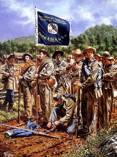 band of brothers art prints - Bing Images American Revolutionary War, American Civil War, American History, Civil War Flags, Civil War Art, Confederate States Of America, Band Of Brothers, Civil War Photos, Historical Art