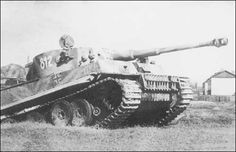 Tiger tank number 812 named Tiki of the 8/SS-Panzerregiment 2 Das Reich