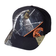 a1f9e356b76ef Metal Mulisha Men s Side Shot Curved Bill Realtree Camo Flexfit Hat Metal  Mulisha