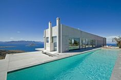 Private Residence on the Island of Aegina, Greece by Konstantinos Kontos