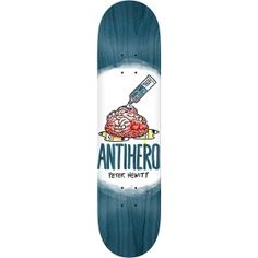 Antihero Skateboards plays by it's own rules. Anti Hero Skateboards, Heroes Peter, Skateboard Deck Art, Blue Stain, Calgary, Pigs, Tattoo, Tattoos, Tattoo Illustration