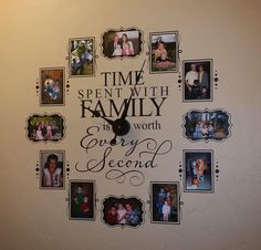 Time spent with family is worth every second...      $35 (plus $5 shipping).           Use coupon code CLOCK at check out to receive $15 ...