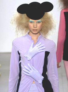 """Comme des Garçons S/S 2007    The recent years of irony and an """"It's called Fashion, look it up"""" mentality of bizarre clothing construction has ruled the 21st century with the reconstructed houndstooth of Alexander McQueen, the deconstruction of Maison Martin Margiela"""