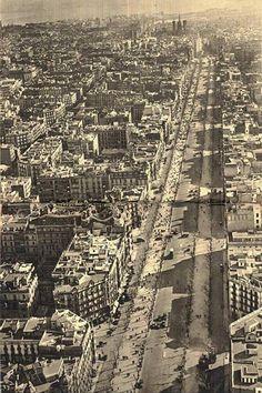 Passeig de Gràcia, Barcelona. Principios S. XX