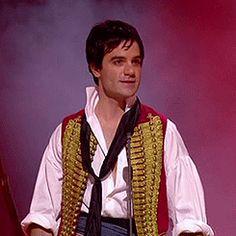 Ramin Karimloo as Enjolras in Les Miserables 25th Anniversary Concert