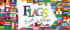 Flags: An Original Family Board Game of Chance, Knowledge and Strategy. #BoardGame