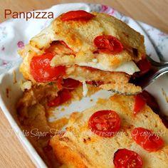 Pizza di pane ricetta con pane raffermo facile e gustosa. La panpizza o pizza di…