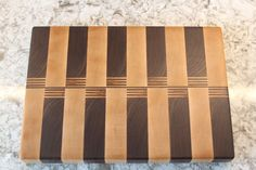 End grain cutting board made from Walnut and by MeyersHandmade