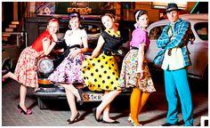 Тематическая вечеринка в стиле стиляг | Конкурсы | Сценарий, Костюмы, Меню, Музыка, Фото