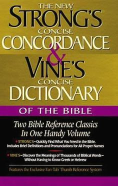 New Strong's Concise Concordance and