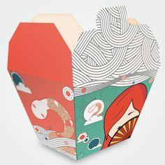 Chinese Take Out Box on Behance