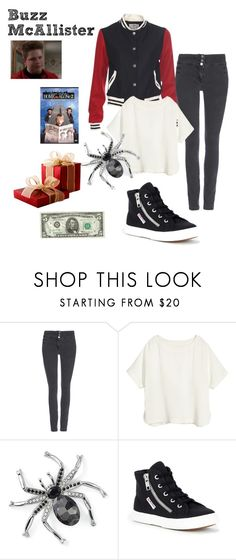 """""""Buzz McAllister - Home Alone 2"""" by ashleigh-kuzio on Polyvore featuring Wallis, H&M, Natures Jewelry and Superga"""