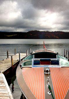 a lake boat